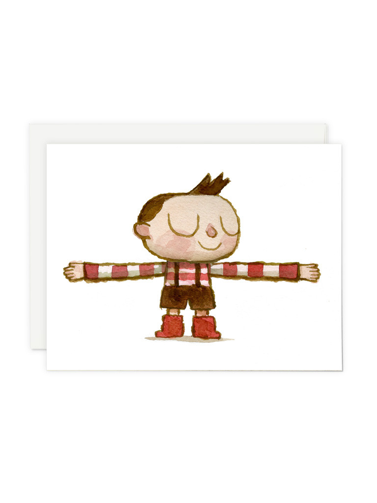 Hug Machine Hugger Greeting Card