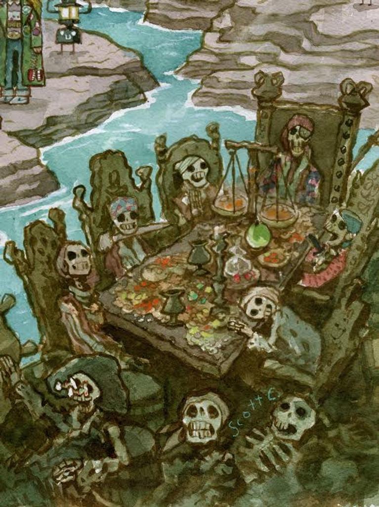 Treasure Below The Docks