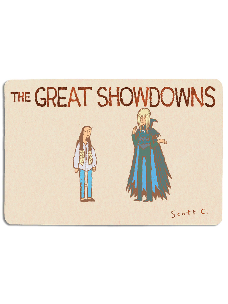 Great Showdowns Pin Set #5: The Girl and the King of Goblins