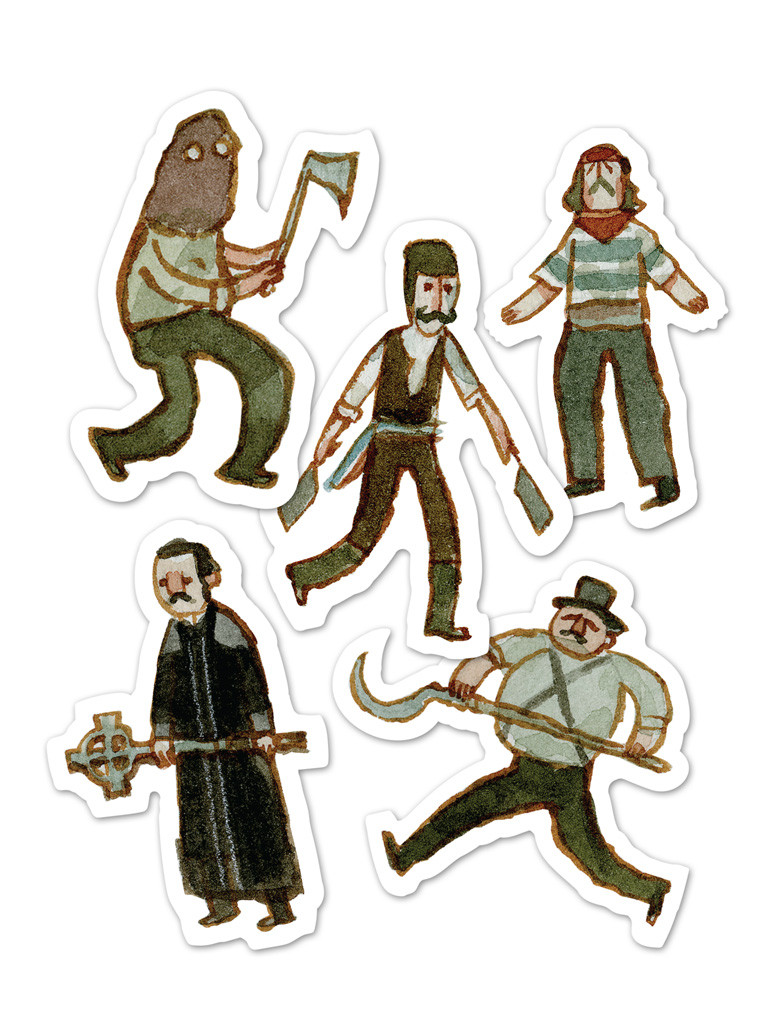 The Five Points Experience Sticker Pack