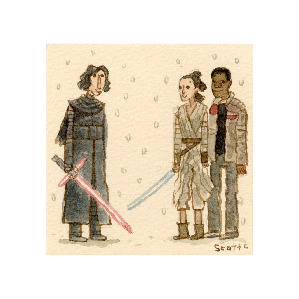 The Snow Upon Sabers