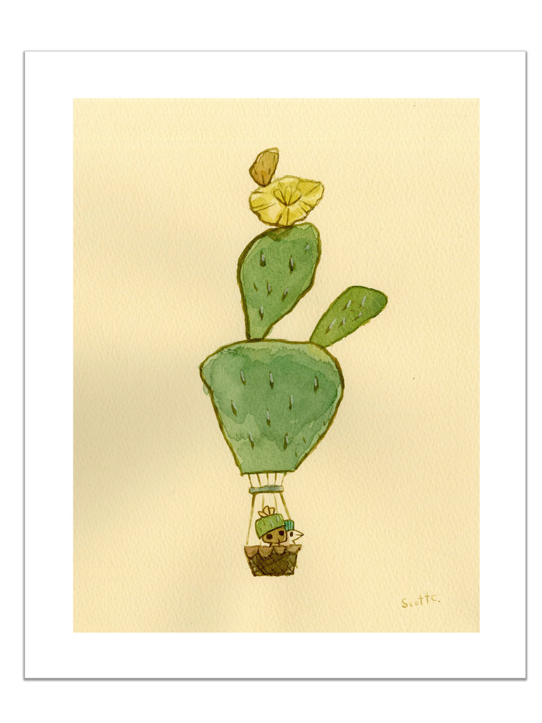 Desert Float: Yellowly