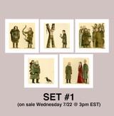 Great Showdowns (GoT Edition) - Print Set #1
