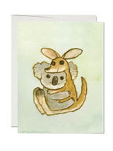 Koala Hug Greeting Card