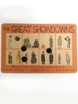 Great Showdowns Pin Set #1 - Princess and Roundy