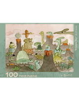 Dinosaur Day 100 Piece Puzzle
