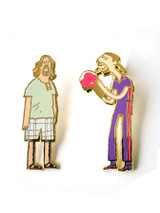 Great Showdowns Pin Set #4: The Rollers