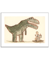 Dinosaur and the Toilet
