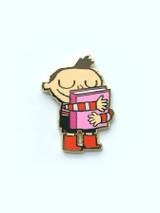 Hug Machine Book Hug Pin