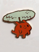 Helicopter Dog Enamel Pin