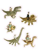 Jurassic Backs Sticker Pack
