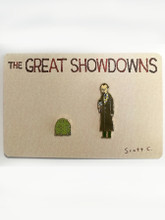 Great Showdowns Pin Set #3: The Groundhog and The Newsperson