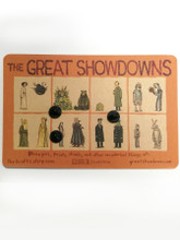 Great Showdowns Pin Set #2: The Flower Outfit and Bear Outfit
