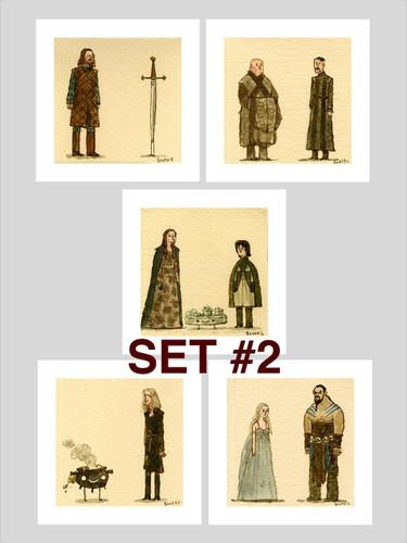 Great Showdowns (GoT Edition) - Print Set #2