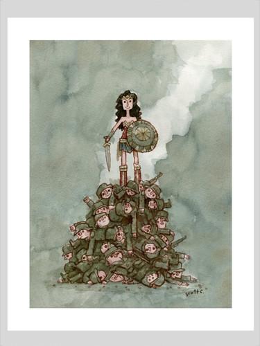 Princess Upon Mound