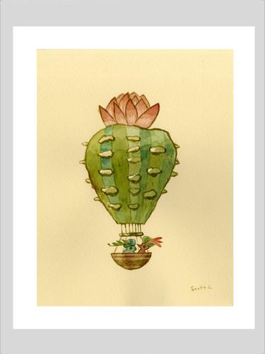 Desert Float: Print Three