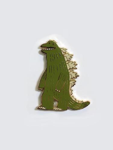The Thunder Lizard Pin