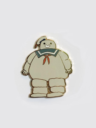 The Marshmallow Man Pin