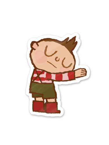 Hug Machine Hugger Sticker