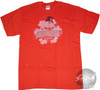 Frosty the Snowman Snowflake Behind T-Shirt