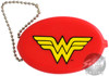 Wonder Woman Logo Rubber Coin Purse