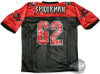 Spiderman 62 Football Jersey