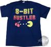 Pacman 8 Bit Hustler T-Shirt