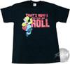 Simpsons Homer How I Rock T-Shirt