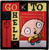Family Guy Stewie Go to Hell Patch