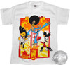 Chop Socky Chooks Flame Poses Youth T-Shirt