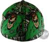 Green Lantern Action Collage Hat