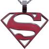 Supergirl Enamel Shield Logo Necklace