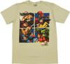 Marvel vs Capcom Teams T Shirt Sheer