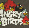 Angry Birds Around Logo T Shirt