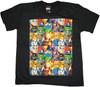Marvel Hero Squad Boxes Juvenile T Shirt