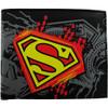Superman Logo Collage Bifold Wallet