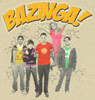 Big Bang Theory Group Bazinga Baby Tee