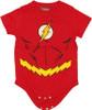 Flash Costume Snap Suit