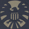 Marvel SHIELD Symbol T Shirt Sheer