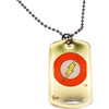 Flash Logo Rush Dog Tag