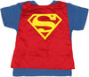 Superman Cape Toddler T Shirt