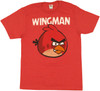 Angry Birds Wingman T Shirt Sheer