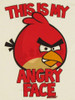 Angry Birds Angry Face Youth T Shirt
