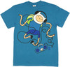 Adventure Time Dancing T Shirt