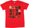 Star Wars Heads T Shirt Sheer