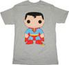 Superman Pop Heroes T Shirt Sheer