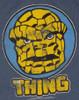 Fantastic Four Thing Portrait T Shirt Sheer