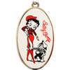 Betty Boop Oval Necklace