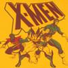 X Men Gold Group T Shirt Sheer