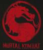 Mortal Kombat Red Logo T Shirt